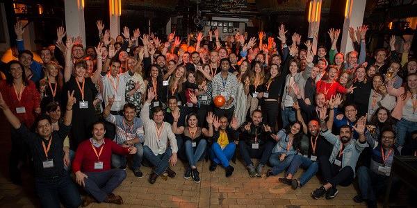 NxG Summit 2018 La Hulpe group photo