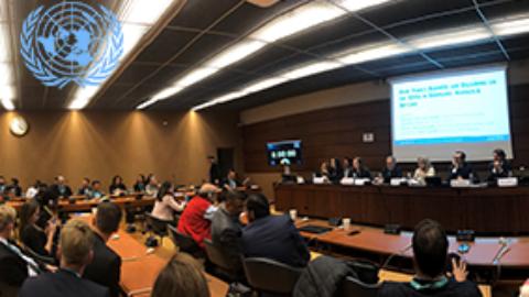 Le FBN aux Nations Unies pour témoigner de la responsabilité sociétale et environnementale des entreprises familiales