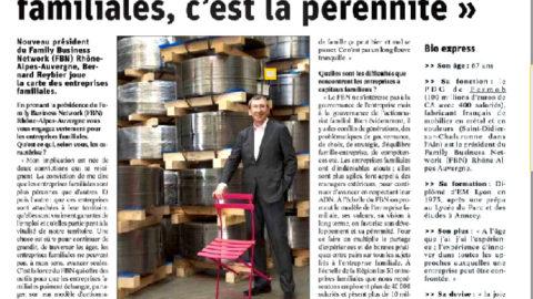 Interview de Bernard Reybier – Le Progrès