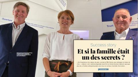 Le Mensuel du Grand-Est – Et si la famille était un des secrets ?