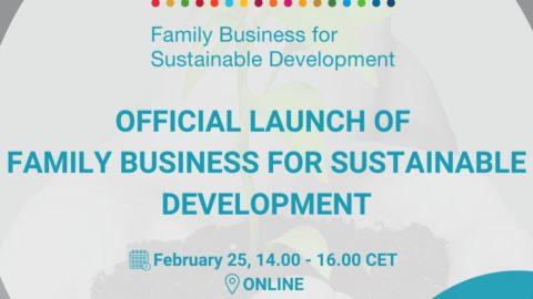 Lancement officiel du Family Business for Sustainable Development (FBSD initiative)