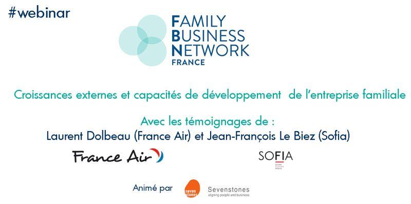 Plénière «Croissances externes et capacités de développement de l'entreprise familiale»
