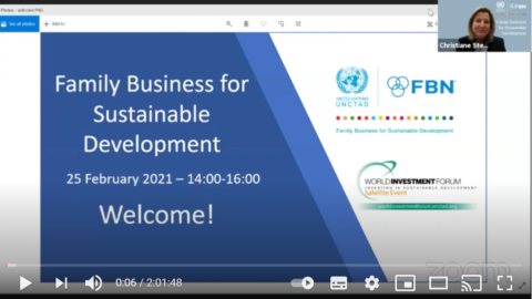Replay du Lancement officiel du partenariat FBN – Nations Unies